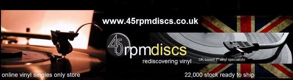 45rpmdiscs - UKs largest vinyl singles ONLY site